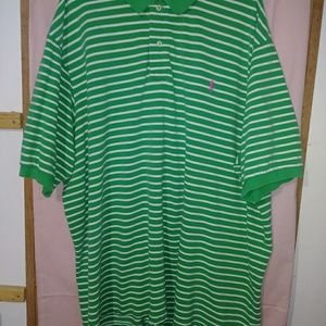MENS SIZE 4XLT POLO SHIRT